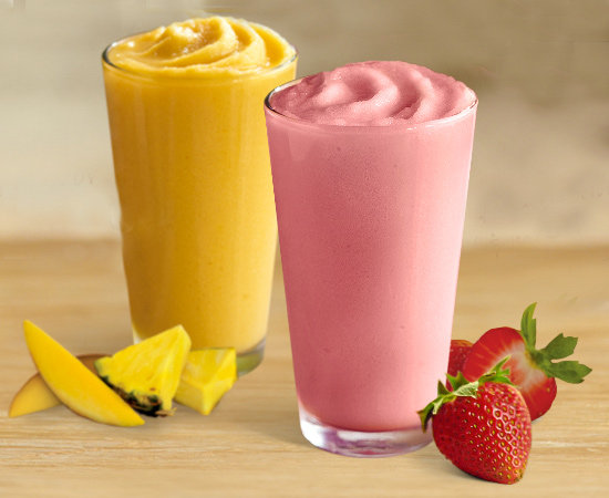 Fruit Smoothies | Healthy Items You Can Order From Burger King ...