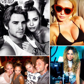 Celebrity Twitter Pictures of Liam Hemsworth, Miley Cyrus, Lara Bingle, Nicole Richie and More