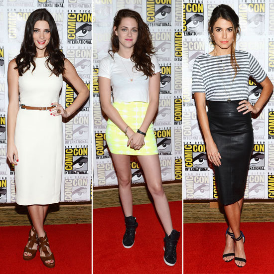 Comic-Con Kicks Off With the Stylish Crew From Twilight
