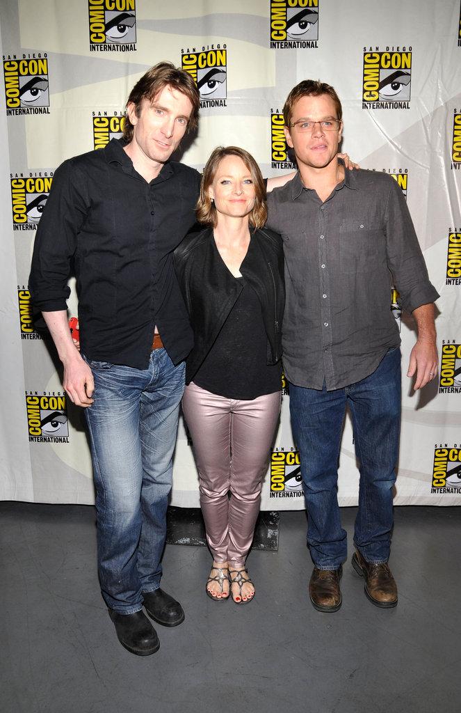 Sharto Copley, Jodie Foster, and Matt Damon got together.