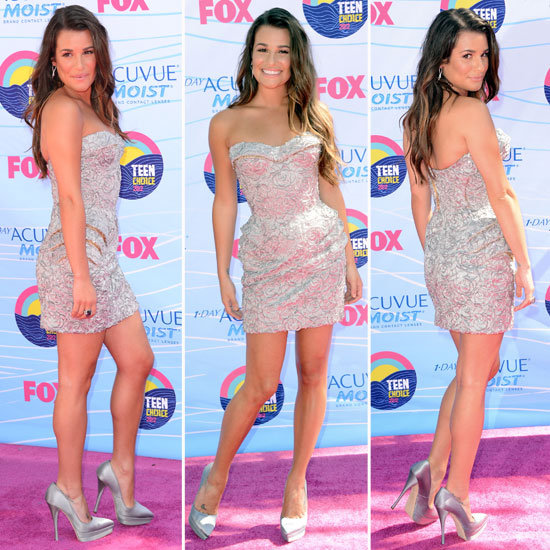 Lea Michele at Teen Choice Awards 2012