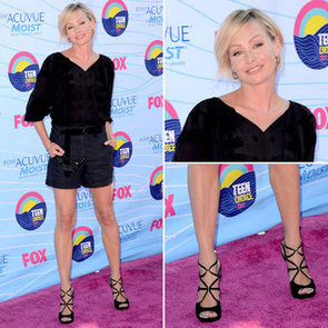 Pictures of Portia de Rossi on the Red Carpet at the 2012 Teen Choice Awards: Rate or Hate Her Evening Shorts Look?