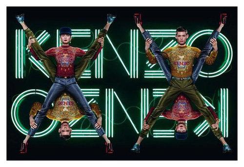 Kenzo Fall 2012 Ad Campaign