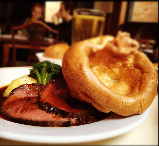 Yorkshire Pudding and Sunday Roast