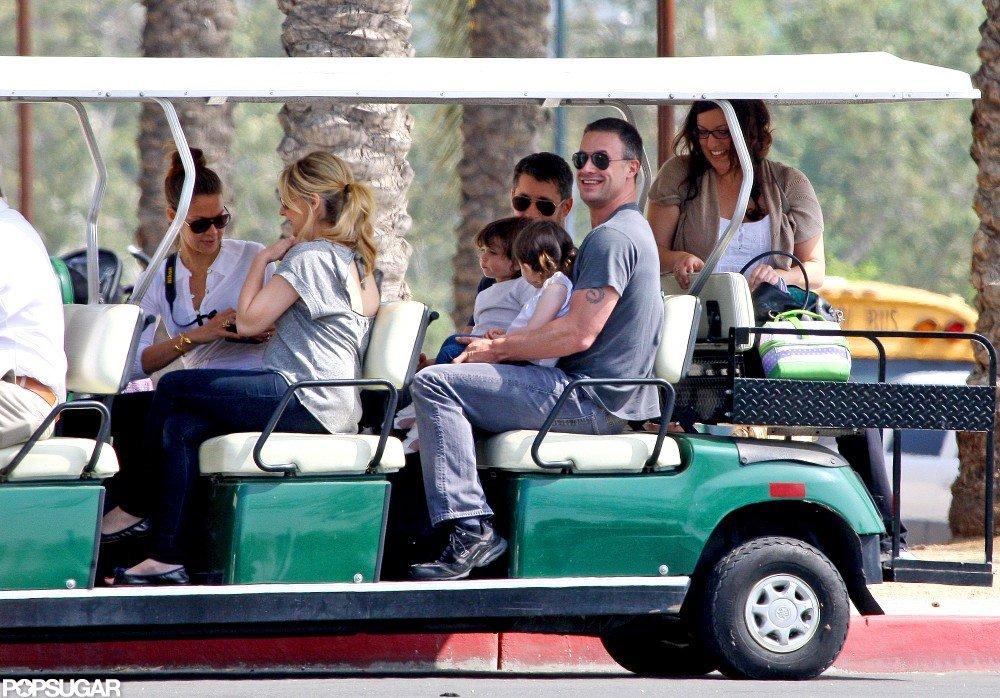 Sarah Michelle Gellar and Freddie Prinze Jr. took Charlotte to the LA Zoo.