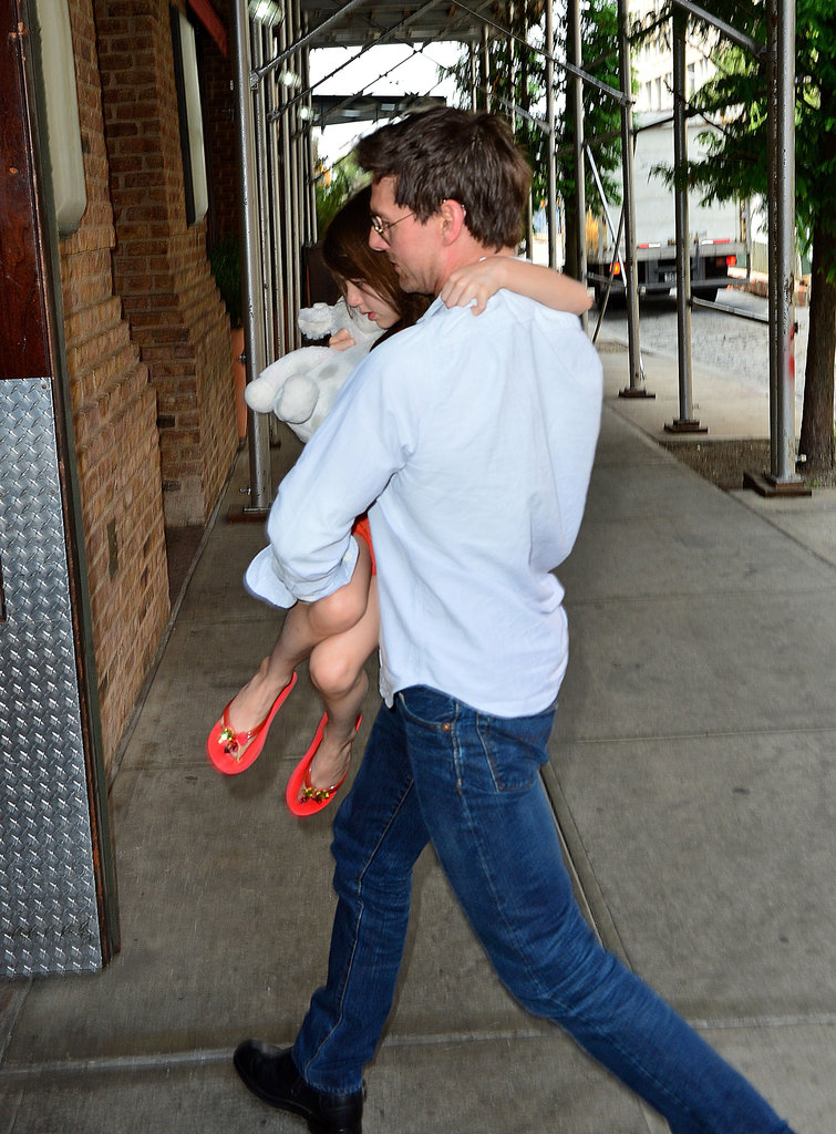 Tom Cruise with Suri for the first time since divorce.