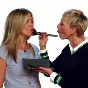 Ellen DeGeneres Gives Jennifer Aniston a Makeover