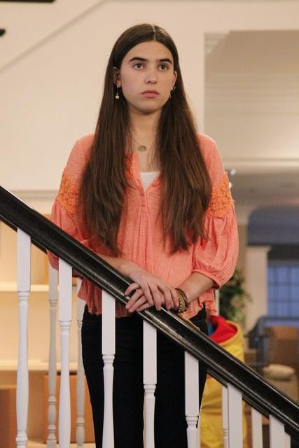 Clara Mamet on The Neighbors.