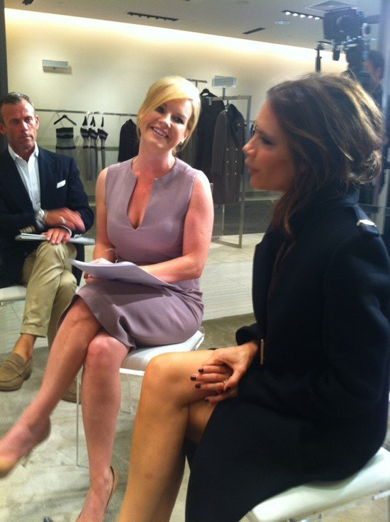 Victoria Beckham gave an interview in Ireland. Source: Twitter user CKennedyPR
