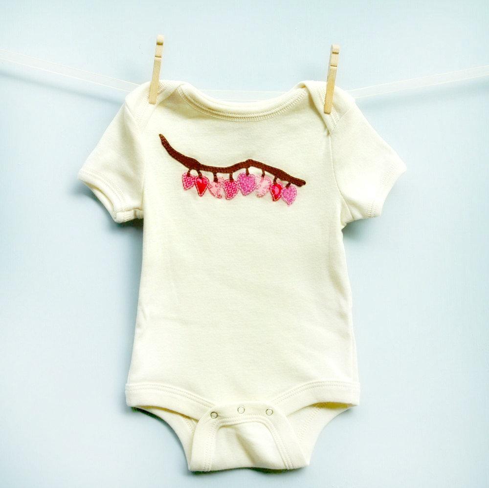 Pink Hearts Infant Bodysuit ($30)