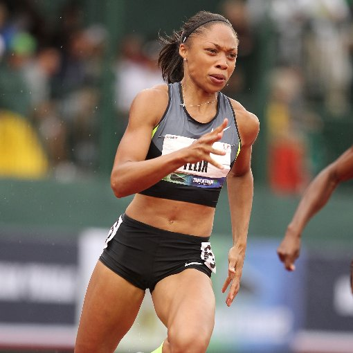 Allyson Felix Interview About Qualifying For Olympics
