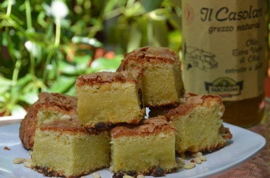 Citrus Scented Olive Oil Cake
