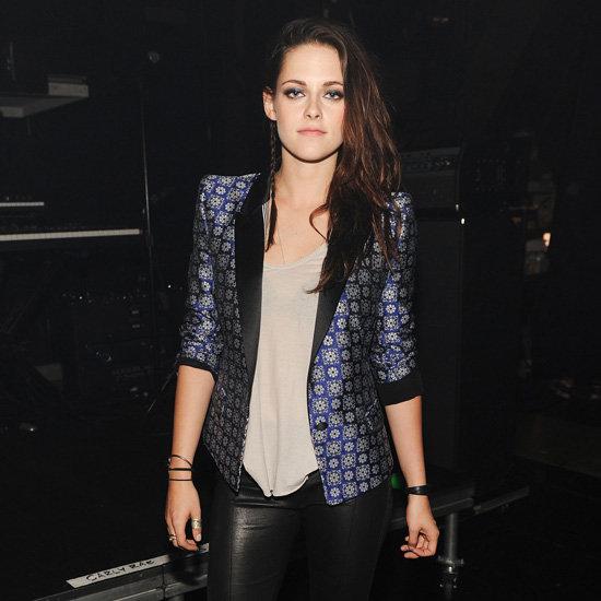 Kristen Stewart Printed Blazer at Teen Choice Awards 2012
