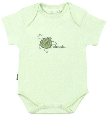 Kushies Organic Short Sleeve Bodysuit ($15)