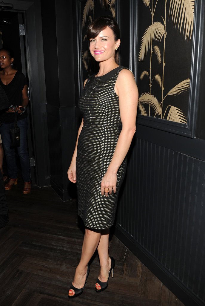 Carla Gugino posed at the Killer Joe afterparty in NYC.