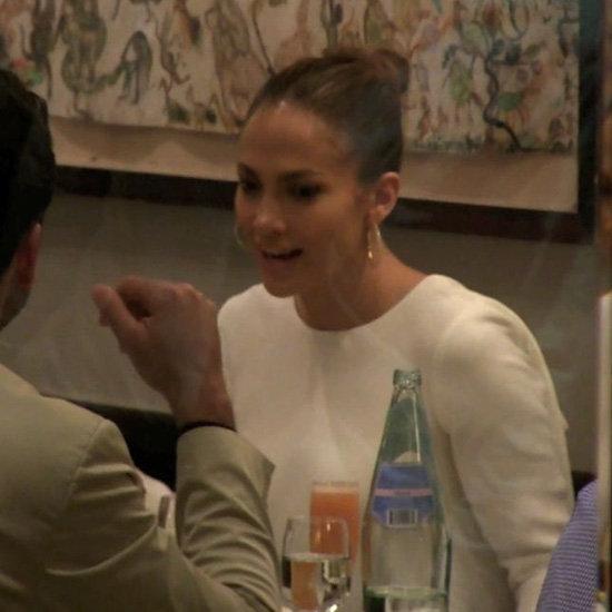 Jennifer Lopez Celebrating Her Birthday With Casper Smart