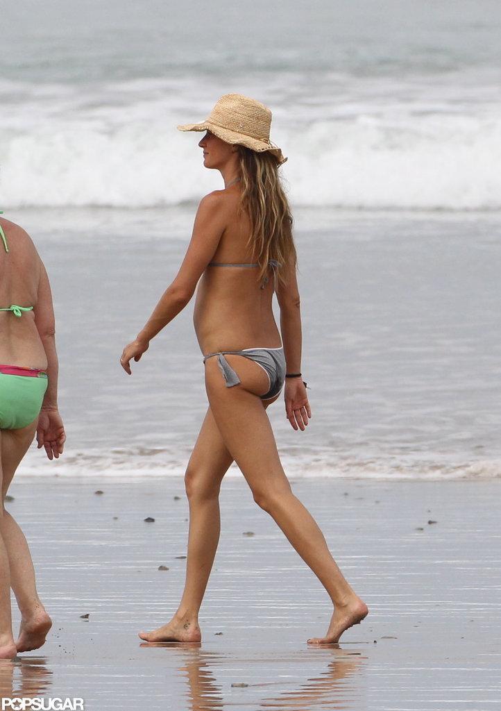 Gisele Bundchen vacationed in Costa Rica.