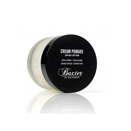 Thankfully, men usually wise up and toss their crunchy gels after the age of 15 in exchange for pomade. Baxter's Clay Pomade ($18) is a good call for you, too. Swipe it over your locks to remove frizz and add a perfect dose of texture.
