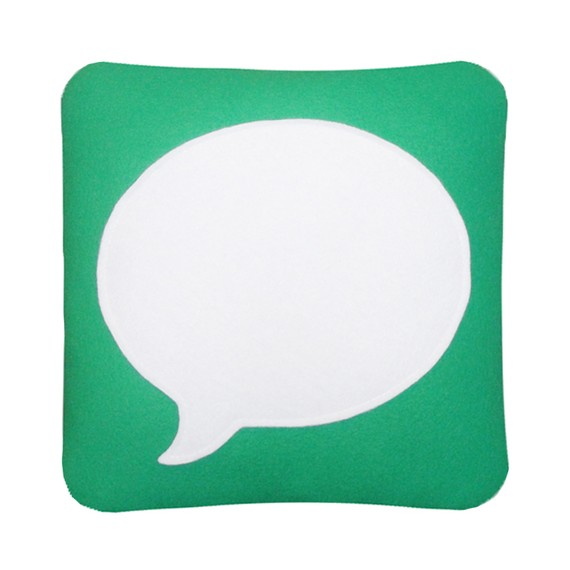 Messages Icon Pillow