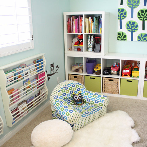Kids Room Ideas For Playroom: Kids Playroom And Library Ideas