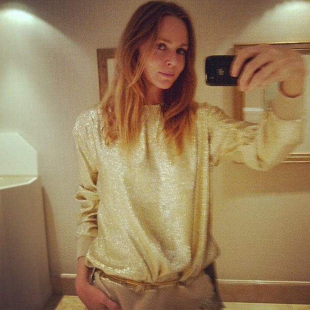 Stella McCartney snapped a photo of her outfit before heading down to the Olympic Stadium. Source: Instagram User stella_mccartney