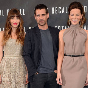 Jessica Biel and Kate Beckinsale Total Recall Pictures