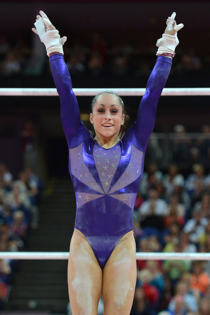 Best Eye Makeup: USA Gymnastics