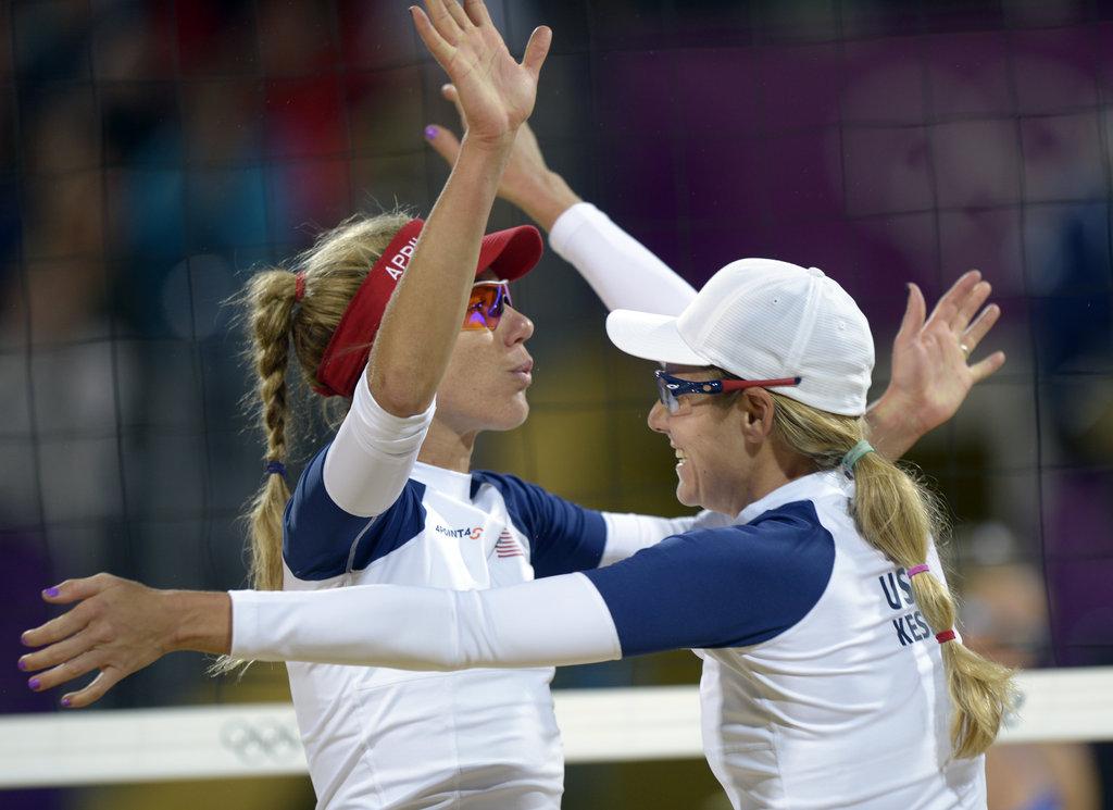 Best Ponytail: USA Beach Volleyball