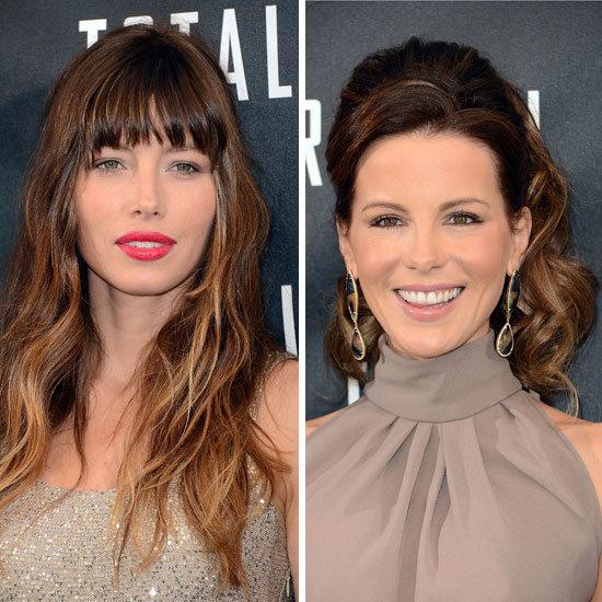 Beauty Poll: Jessica Biel's Beachy Waves Vs Kate Beckinsale's Voluminous Ponytail