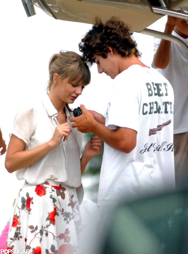 Conor Kennedy and Taylor Swift got close.