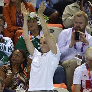 Princess Charlene at the Olympics
