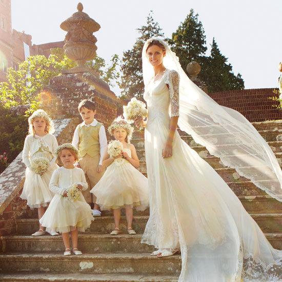 Jacquetta Wheeler's English Wedding Album: See the Model Bride in Her Gorgeous Custom Temperley Wedding Dress