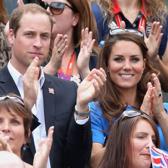 Kate Middleton and Prince William Watch Olympic Tennis