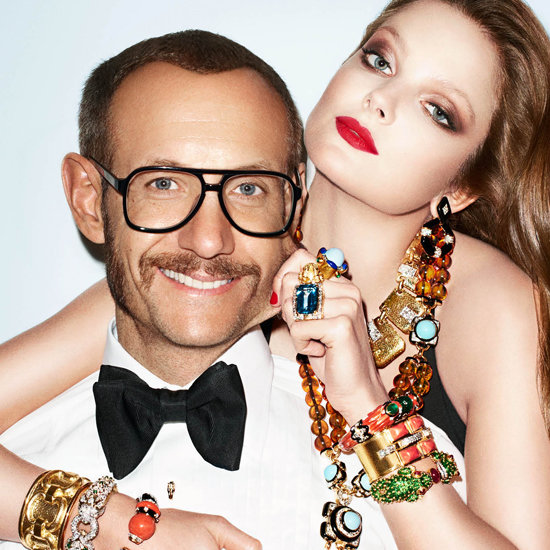 Terry Richardson in His Own Ad Campaign For David Webb