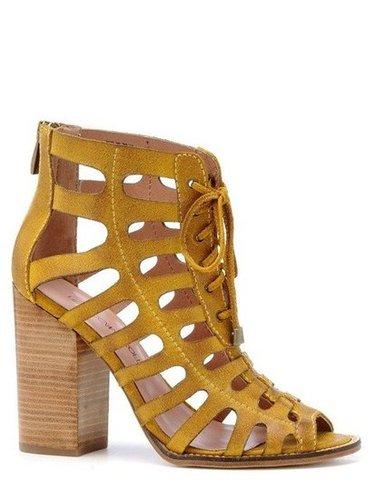 Rebecca Minkoff Drew Cage Heels | Rebecca Minkoff Online Store