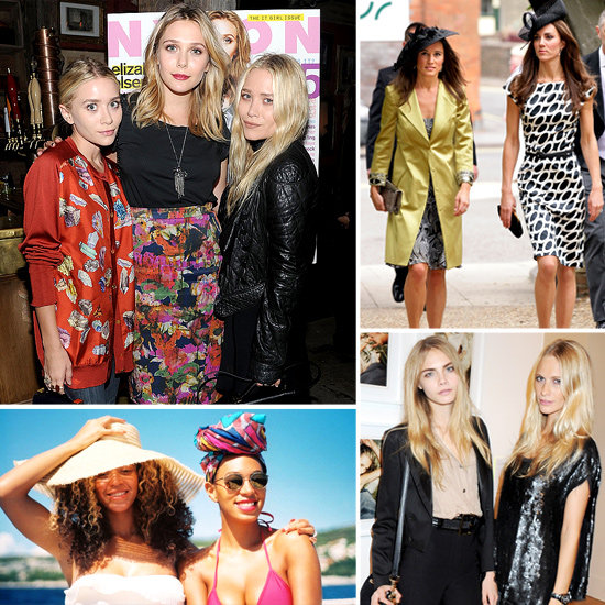 The Most Stylish Sisters: The Olsens, The Courtin-Clarins Girls, Poppy and Cara Delevingne, Solange Knowles and Beyonce and more