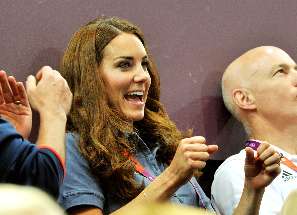 Kate Middleton Takes in Gymnastics, Athletics and Handball on Olympics Day Nine