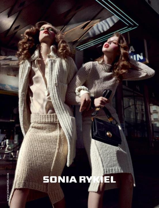 How luxurious are these knits for Sonia Rykiel Fall 2012?