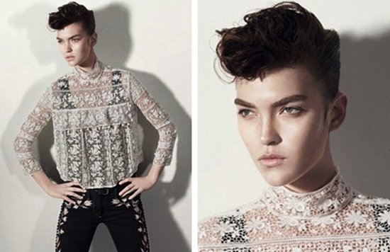Delicate lace and embroidered pants make the Isabel Marant campaign even more enviable.