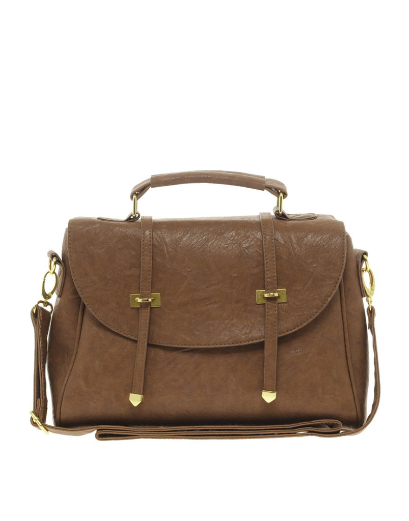 For less than $50, this classy tote looks worth a lot more. ASOS Metal Tip Satchel ($46)