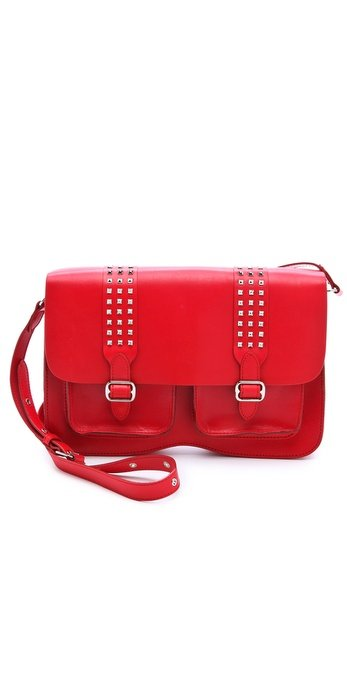 Kick-start your school day with this fiery red Rebecca Minkoff bag. Rebecca Minkoff School's Out Large Alex Satchel ($295)