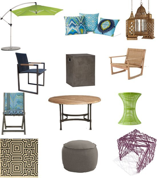 bohemian outdoor furniture shopping popsugar home