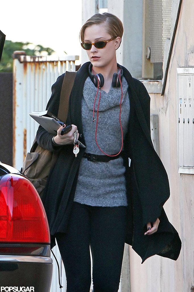 In November 2011, Evan Rachel Wood carried a copy of Just Kids in LA.