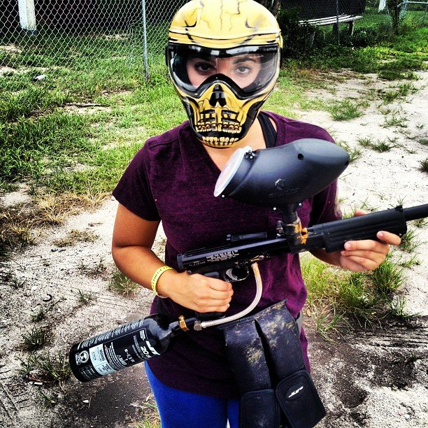 Fire Up Some Paintball