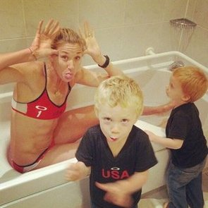 Celebrity Moms' Instagram Pictures, Week of Aug. 5, 2012