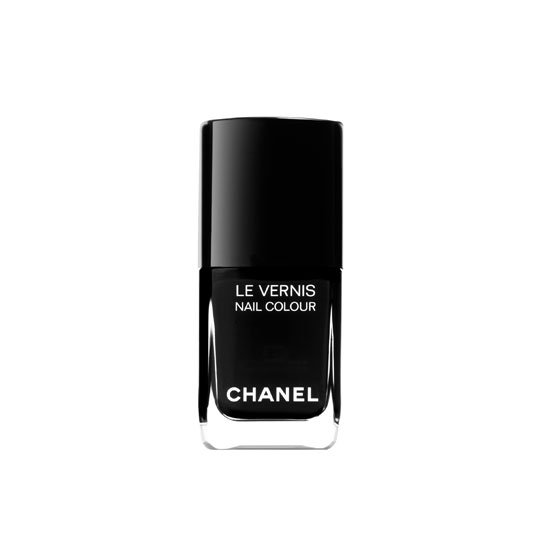 Chanel Le Vernis Nail Colour in Black Satin, $39