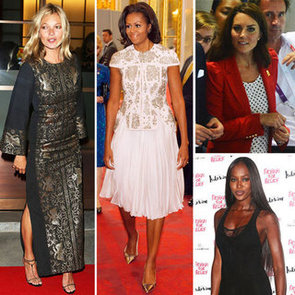 Kate Moss, Kate Middleton, Michelle Obama and Naomi Campbell Look Stylish at the 2012 Olympics