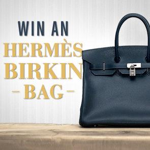 Hermes Birkin Bag Giveaway