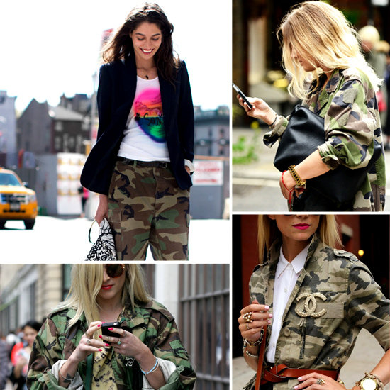 Camo Clothing Trend | POPSUGAR Fashion