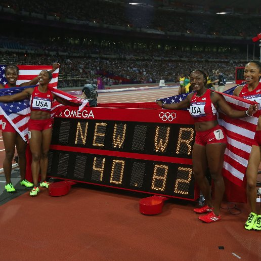 US Women's Track and Field Olympic Medal Wins